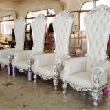 King Queen Throne Antique Classic Chair Wedding Bride&Bridegroom