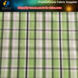 Polyester Memory Yarn Dyed Fabric for Jacket