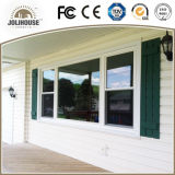 Factory Direct Sale Popular Powder Coating White Casement Aluminium Window