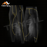 Men's Cycling Leggings Sport Clothing Man Compression Long Pants Wholesale
