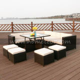 Patio Outdoor Furniture Set Rattan Dining Set Garden Set