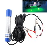 12V 900lm Green LED Underwater Drop Boat Fishing Lure Baits Light
