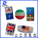 Country Flag Epoxy Resin Clear Glossy Permanent Water Resistant Colorful Stickers