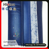 Blue Stretch Denim Fabric 98% Cotton 2% Spandex