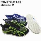 Children Sneaker Shoes Injection Canvas Shoes (FFZL710-03)