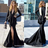 Long Sleeves Party Prom Dresses Hollow Evening Dresses M40252
