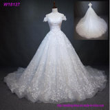White Full Lace Wedding Dress Bridal Gown Custom Size 4 6 8 10 12 14 16 18