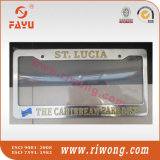 Debossed with Colorfill Us Size Car License Plate Frame