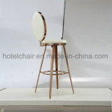 New! ! ! Bar Stools High Chair Stainless Steel Chair with PU Leather