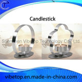 Modern Home Decoration Stainless Steel Candlestick Holder