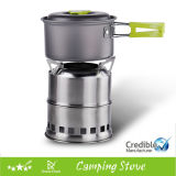 Outdoor Wood Gas Wood-Burning Stove