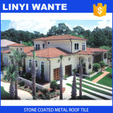Classic Stone Coated Metal Roof Tile for House Decoration