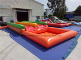 Children′s Small Inflatable 2n Slip Slide with Water Swimming Pool