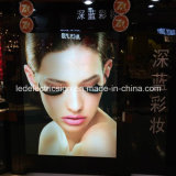 Picture Frame for Cosmetics Display with LED Signboard