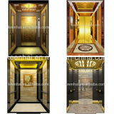 Decorative Etching Stainless Steel Elevator Cabin Decoration