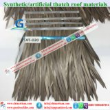 At020 China Artificial Thatch Synthetic Thatch Plastic Palm Thatch Roofing