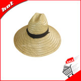 Straw Hat, Rush Safari Hat, Hollow Straw Hat Protect Sun Hat