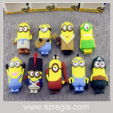 Cute Mini Small Yellow People Mobile Power Bank