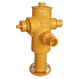 Cast Iron or Ductile Iron Hydrant with Flange Ends
