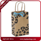 The Wild Side Shoppers Customized Fashion Shopping and Gift Kraft Paper Bag