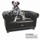 China Supplier Leather Luxury Pet Sofa (YF 79220)