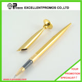 Promotional Luxury Office Metal Gold Desk Pen Stand Set (EP-P9044)