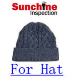 Football Cap Quality Inspection/ Bucket Hat Inspection/ Quality Control Service Prior Loading