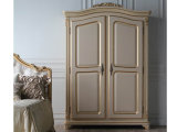 Antique Bedroom Furniture, French Clothes Cabinet 2 Door Wardrobe (BA-1601)