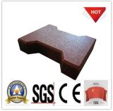 Sound Absorbent Cross Fit Rubber Tile/Paver
