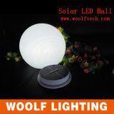 Solar LED RGB Light Decorative Cube Ball Stone for Outdoor Used