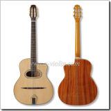 D-Hole or Oval Hole Left Hand Gypsy Jazz Guitar (AGJ200)