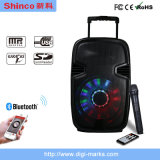Popular Wireless Bluetooth Trolley Portable Plastic Mini Mobile Speaker