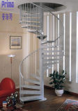 Modern Small Space Stainless Steel Spiral Stairs for Sale