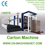 Zj-1300ts Automatic Die Cutting and Creasing Machine with Stripping