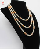 Long Geniue Feshwater Pearl Necklace (EN1307)