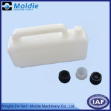 PVC Plastic Blow Molding Pot with Lid for Storing Oil