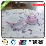 6PCS Porcelain Tableware for Children