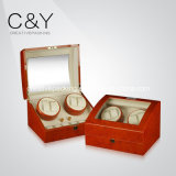 4+6 Top Quality Wooden Watch Winder Box in High Gloss Finish