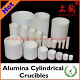 Various Size & Material Alumina Cylindrical Crucibles