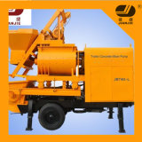 China Mobile Double Shaft Concrete Mixer Pump for Sale Jbt40