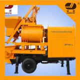 China Mobile Double Shaft Concrete Mixer Pump for Sale Jbt40