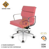 Pink Leather Classical Eames Manager Chair (GV-EA217)