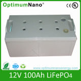 12V 100ah Deep Cycle Lithium Battery for Solar Street Light