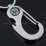 Wholesale Metal Carabiner Compass Keyring (MKC113)