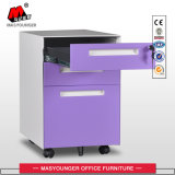 Factory Home Use Metal Moving Cabinet with Drawer