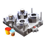 1 Gallon Paint Bucket Injection Molding Machine and Mould