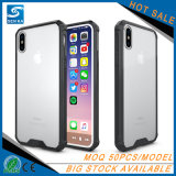 Anti Shock Hybrid Clear TPU Phone Case for iPhone 8