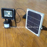 Solar Rechargeable LED Flood Light with PIR Sensor