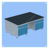 ISO Certificated High Quality Steel Wood Lab Central Bench