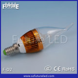 CE Approved 360 Beem Angle Future F-D2 Lighting Pipe LED Candle Light
